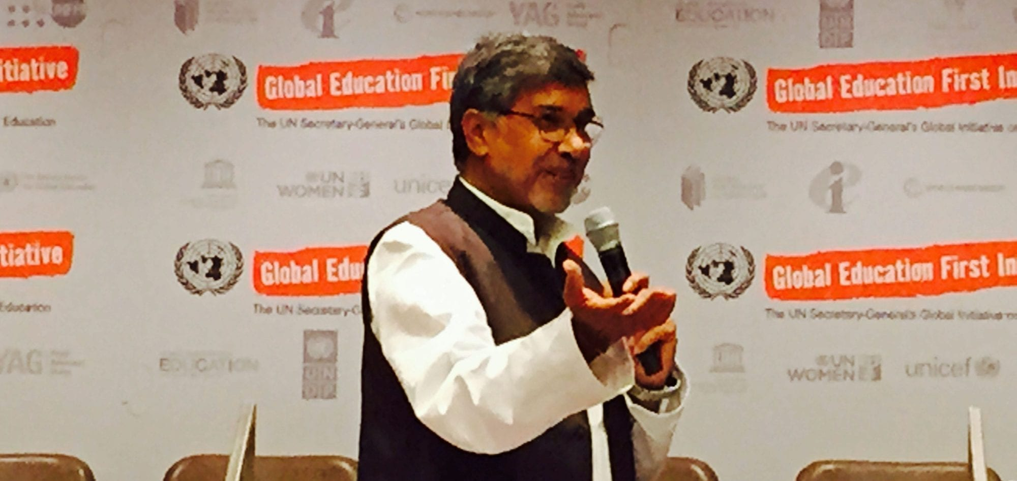 Kailash Satyarthi, UN, child labor, Solidarity Center