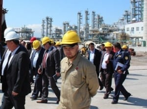 Kyrgyzstan, Solidarity Center, oil refinery, unions