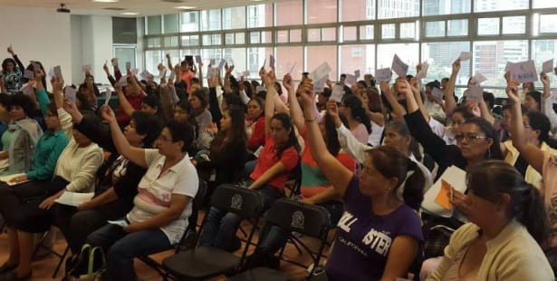 Mexico, domestic workers, human rights, Solidarity Center