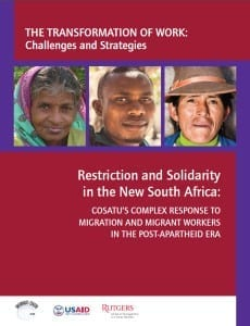 migration, Solidarity Center, South Africa