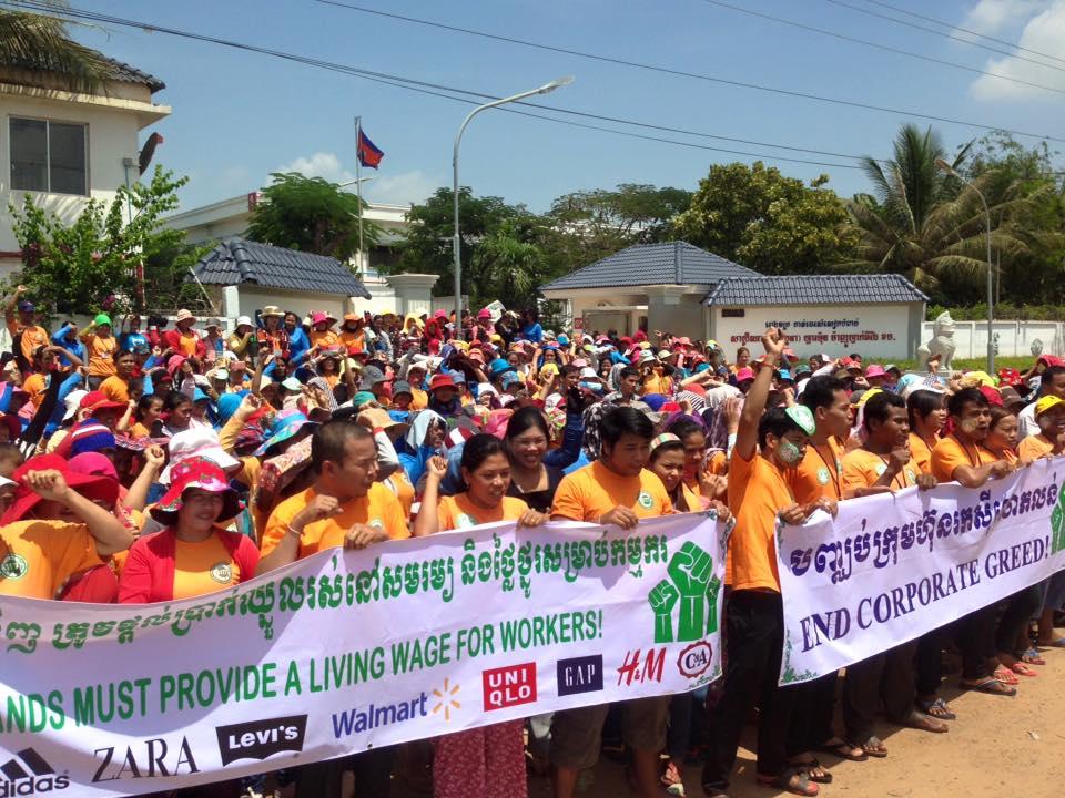 Cambodia, minimum wage, Decent Work Day, Solidarity Center