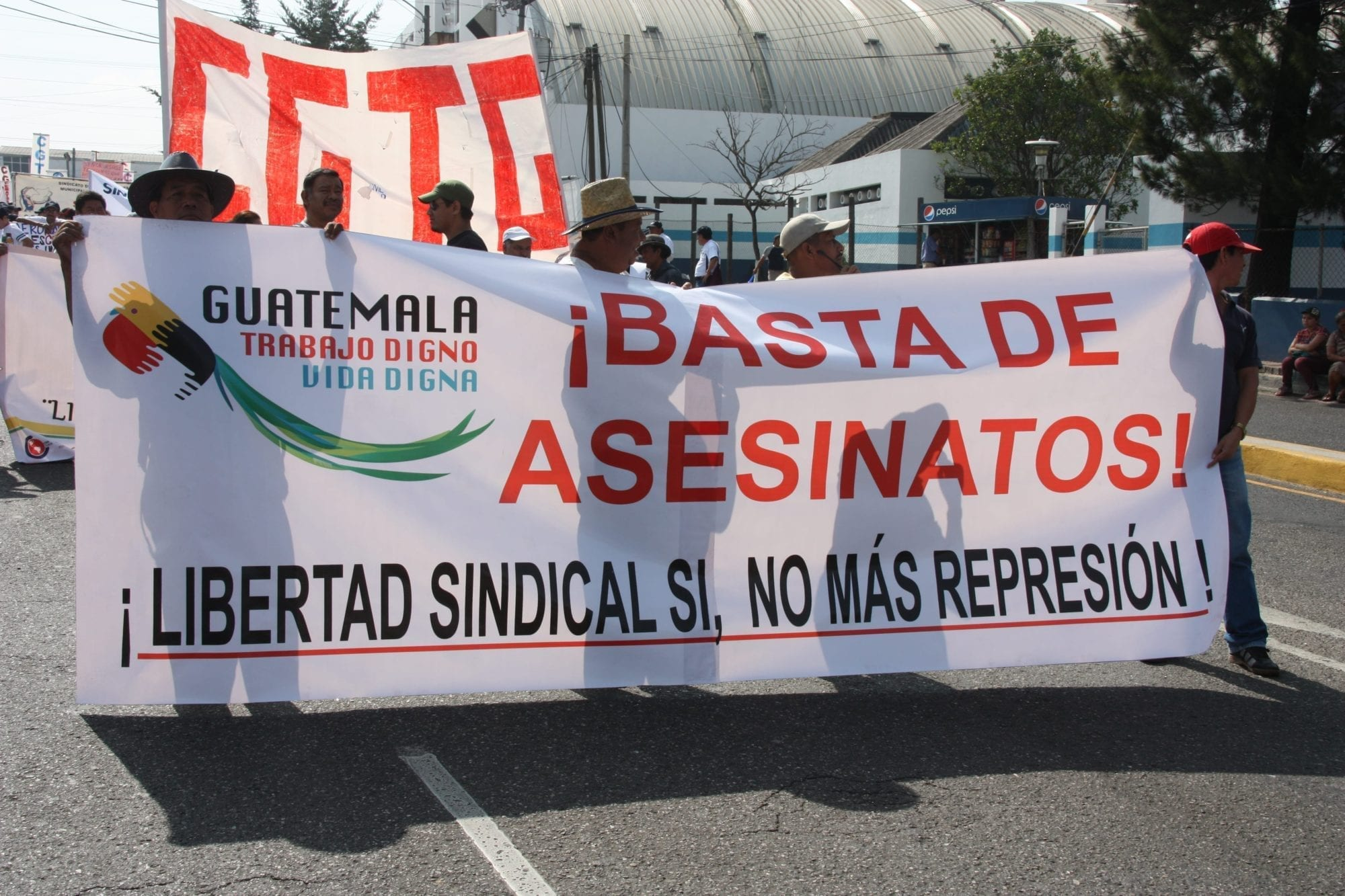 Solidarity Center, Guatemala, union member murder