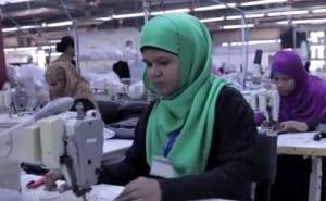 Jordan, textile workers, Solidarity Center