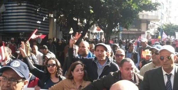 Morocco, national strike, Solidarity Center