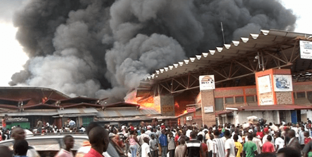 Burundi, human rights, Solidarity Center, market fire