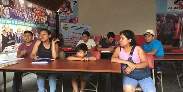 Solidarity Center, garment workers, Peru