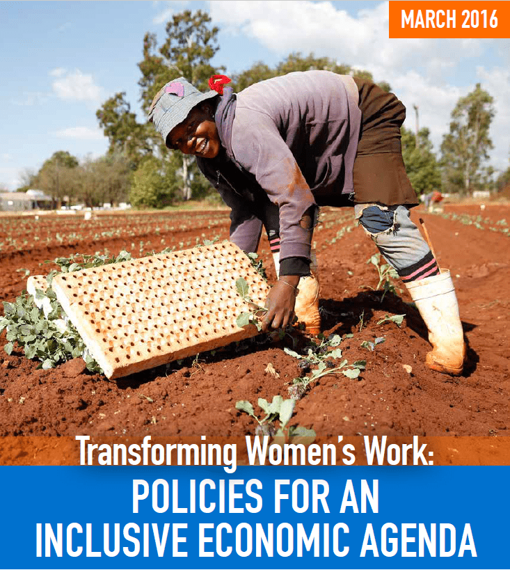 Transforming Women's Work: Policies for an Inclusive Economic Agenda