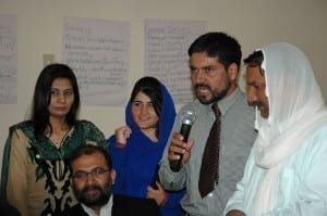 Pakistan, gender equality, Solidarity Center, journalists