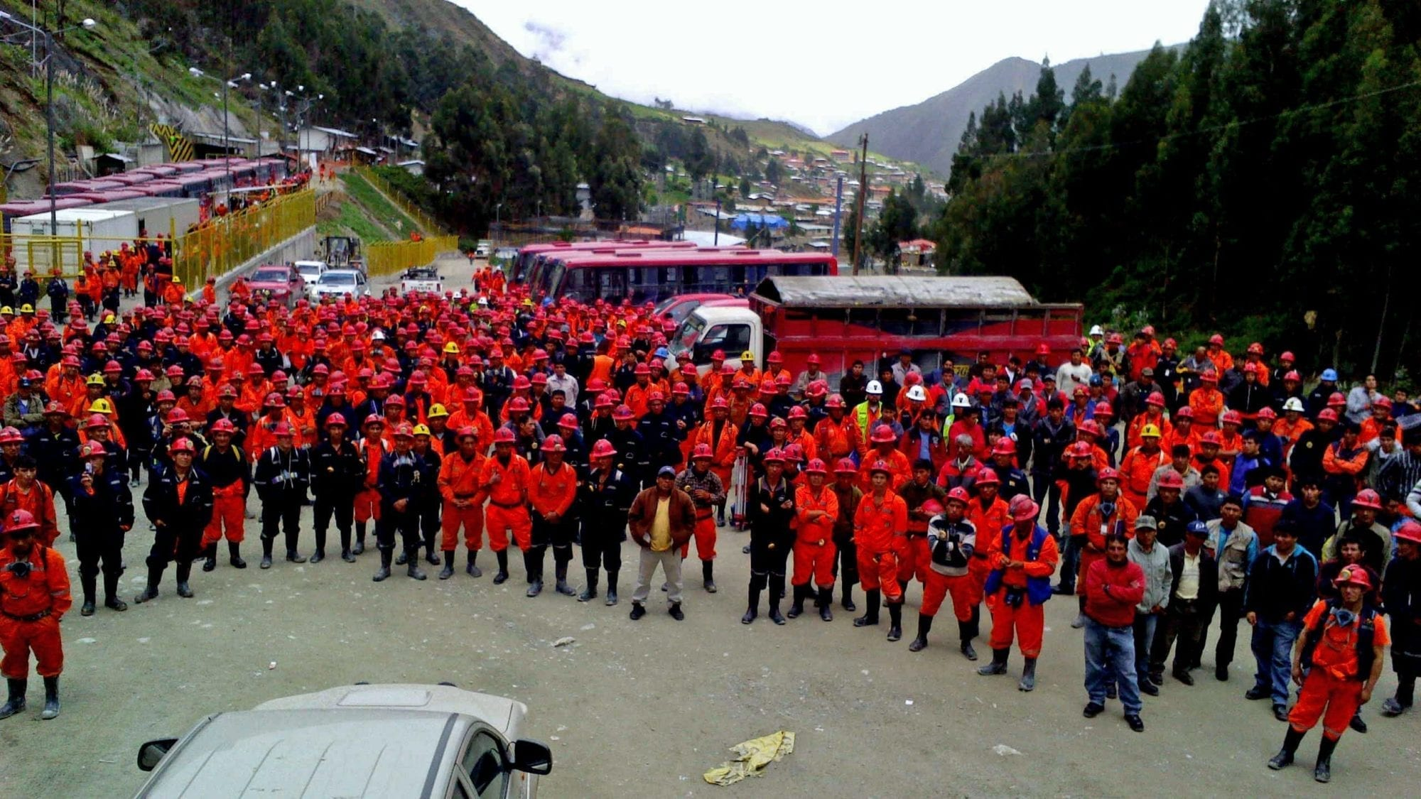 Thousands of Peru Mineworkers Struggle for Decent Work