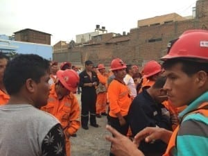 Peru, miners, human rights, Solidarity Center, unions