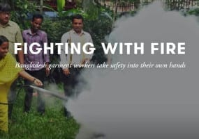 Bangladesh, garment workers, fire safety, Rana Plaza, Solidarity Center