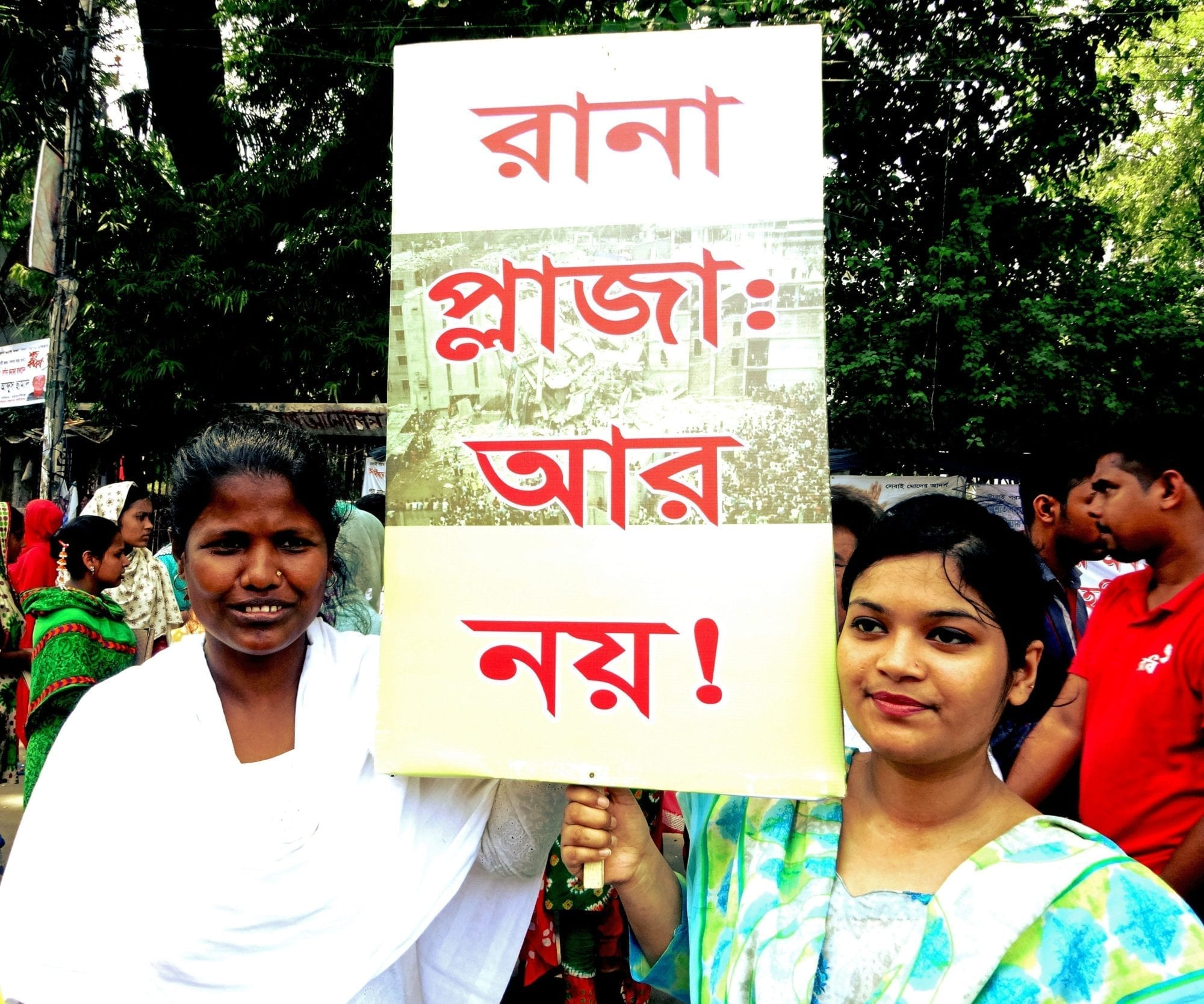 Garment Workers Urge Justice for Rana Plaza Tragedy
