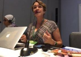 Shawna Bader-Blau, Solidarity Center, gender equality