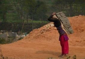 Nepal, brick kilns, forced labor, Solidarity Center, unions
