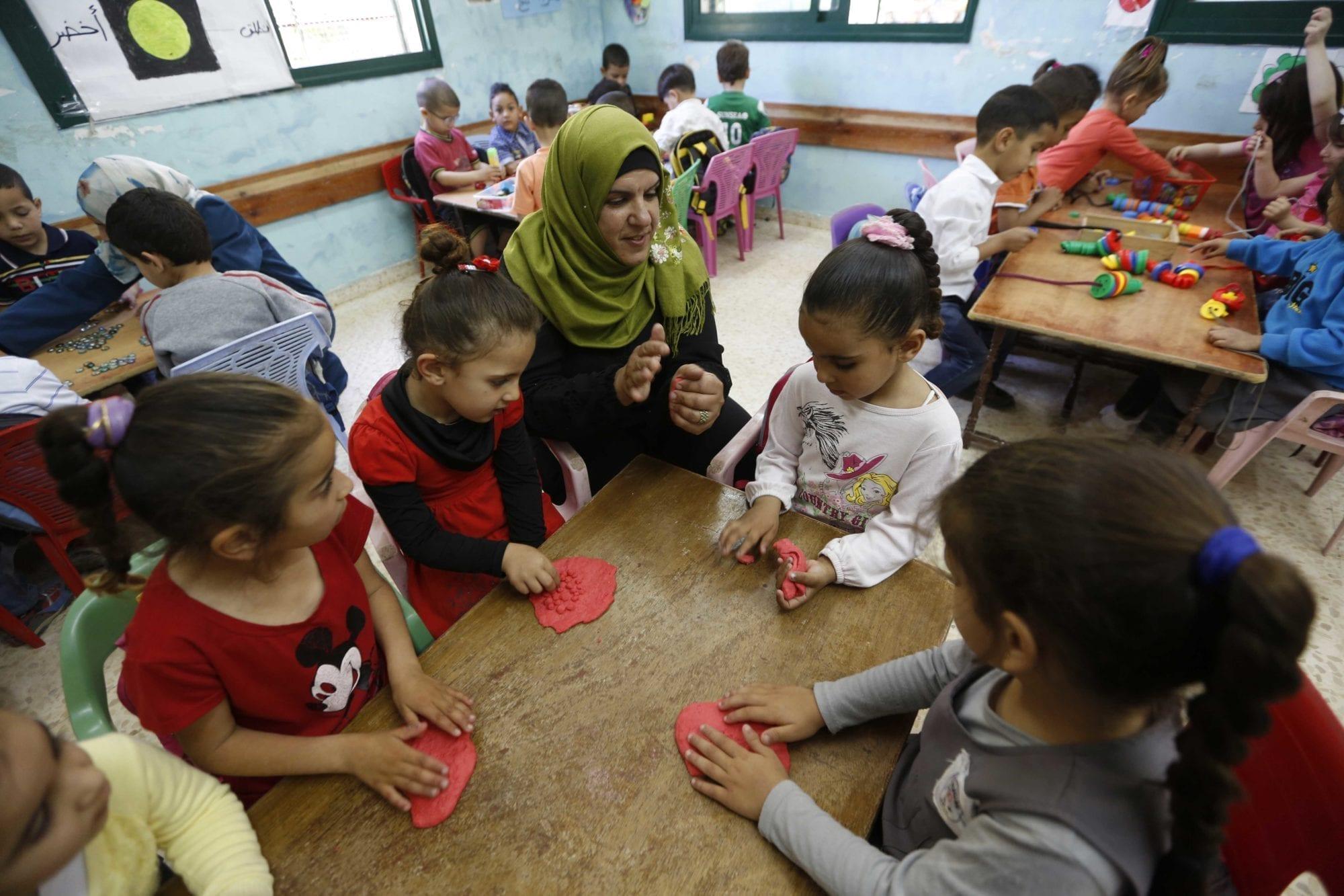 Palestine, unions, decent work, teacher, Solidarity Center