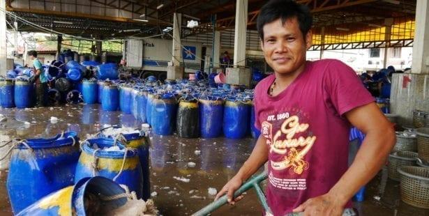 Thailand, Burma, migrant workers, dock workers, decent work, Solidarity Center