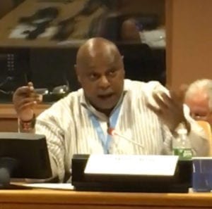 UN Special Rapporteur Maina Kiai, human rights, unions, Solidarity Center