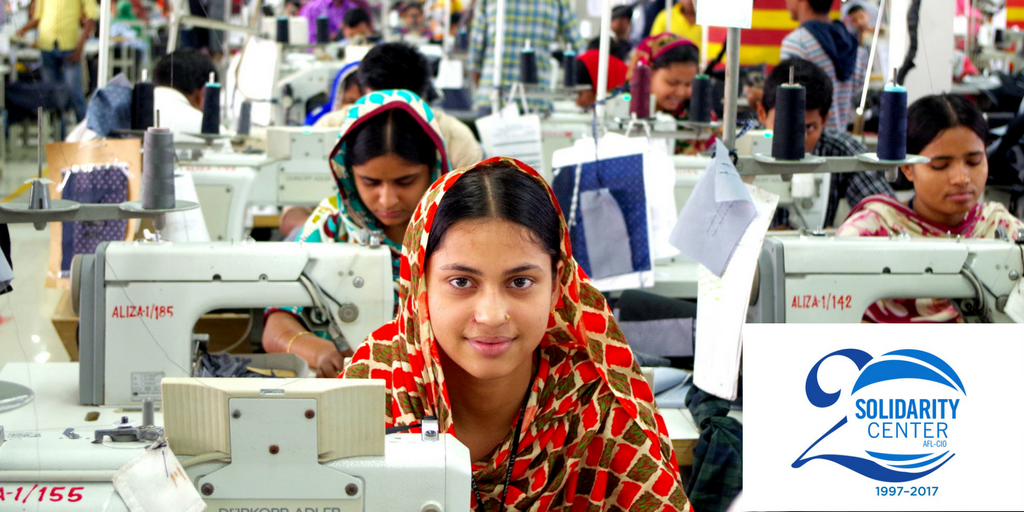 Bangladesh, unions, garment workers, human rights, Solidarity Center