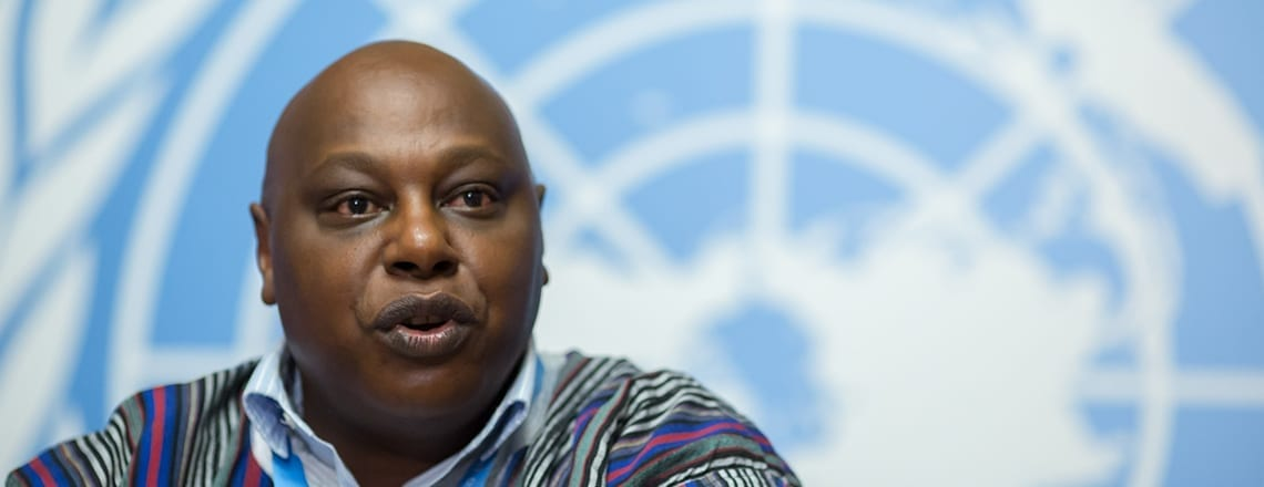 UN Special Rapporteur Maina Kiai, Solidarity Center, unions, human rights