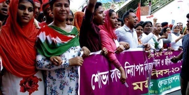 Bangladesh, unions, garment workers, Solidarity Center, worker rights