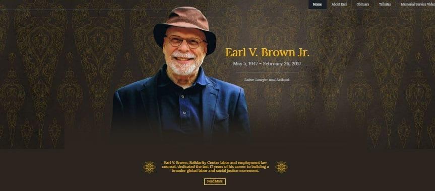 Earl Brown, Solidarity Center