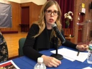 Julia Rybak, Solidarity Center, New York Hotel Trades Council, gender-based violence, CSW, UN