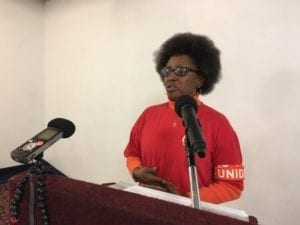 Patricia Sauls, National Domestic Workers Alliance, gender equality, Solidarity Center