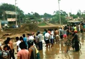 Peru, floods, union relief, Solidarity Center