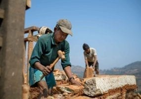 Nepal earthquake, Solidarity Center, jobs, migration