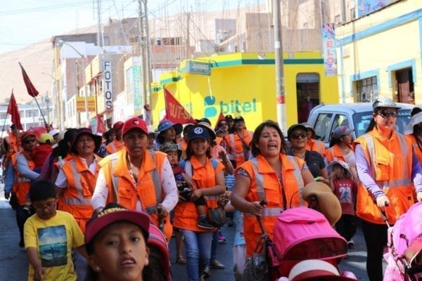 Peru, miner's strike, Solidarity Center