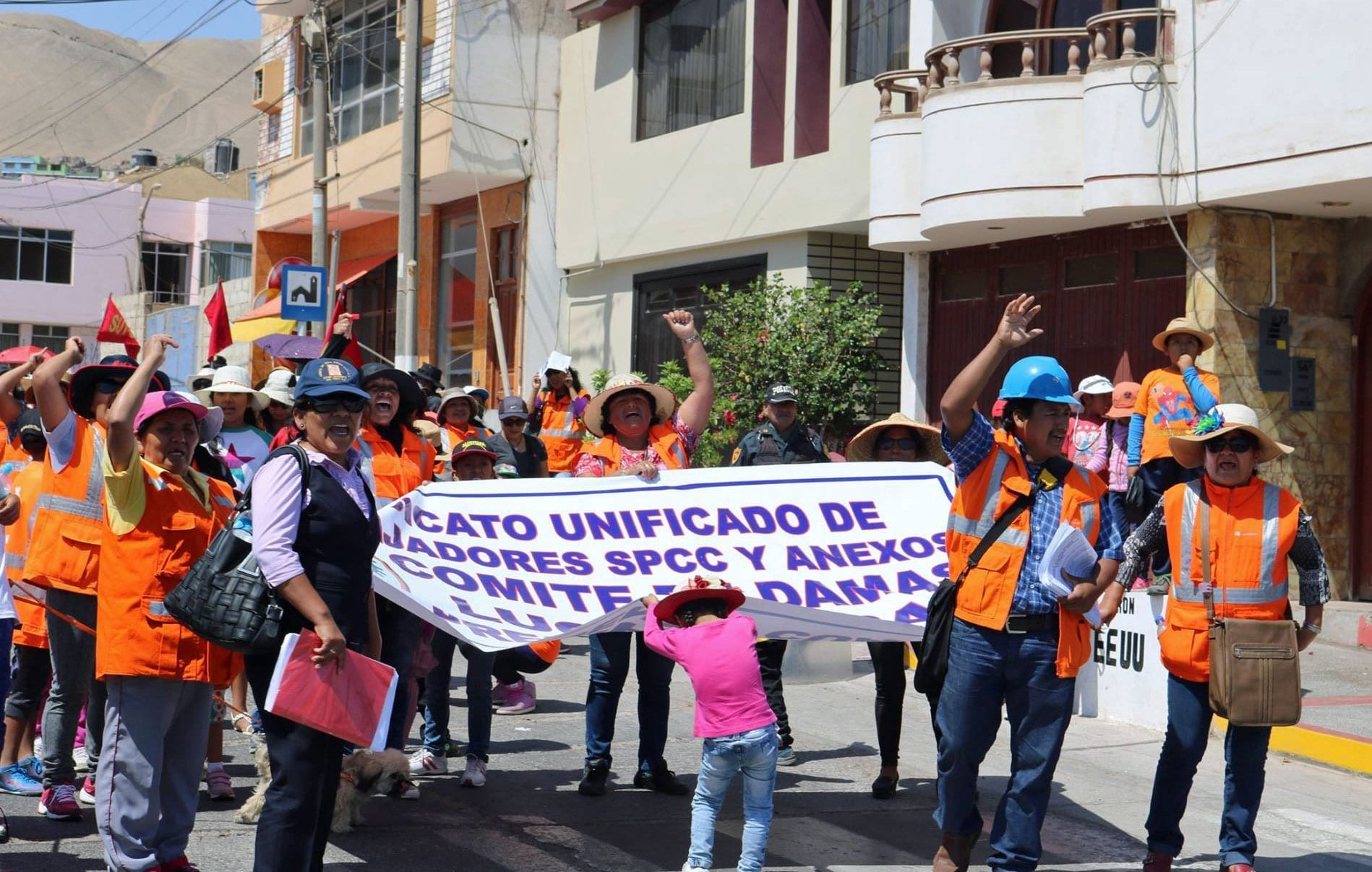Peru, miner's strike, Solidarity Center, human rights