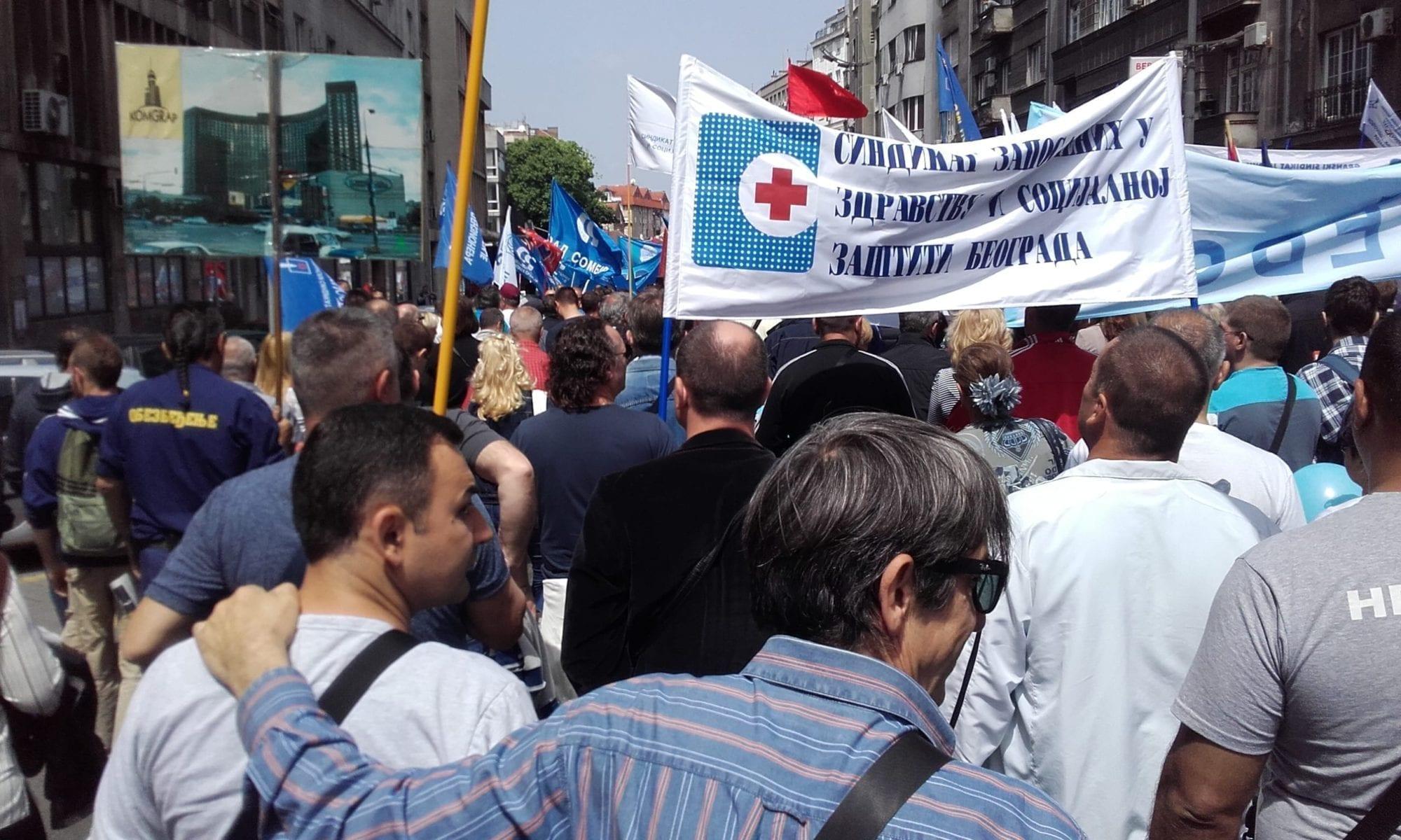 Serbia, Solidarity Center, May Day 2017, human rights
