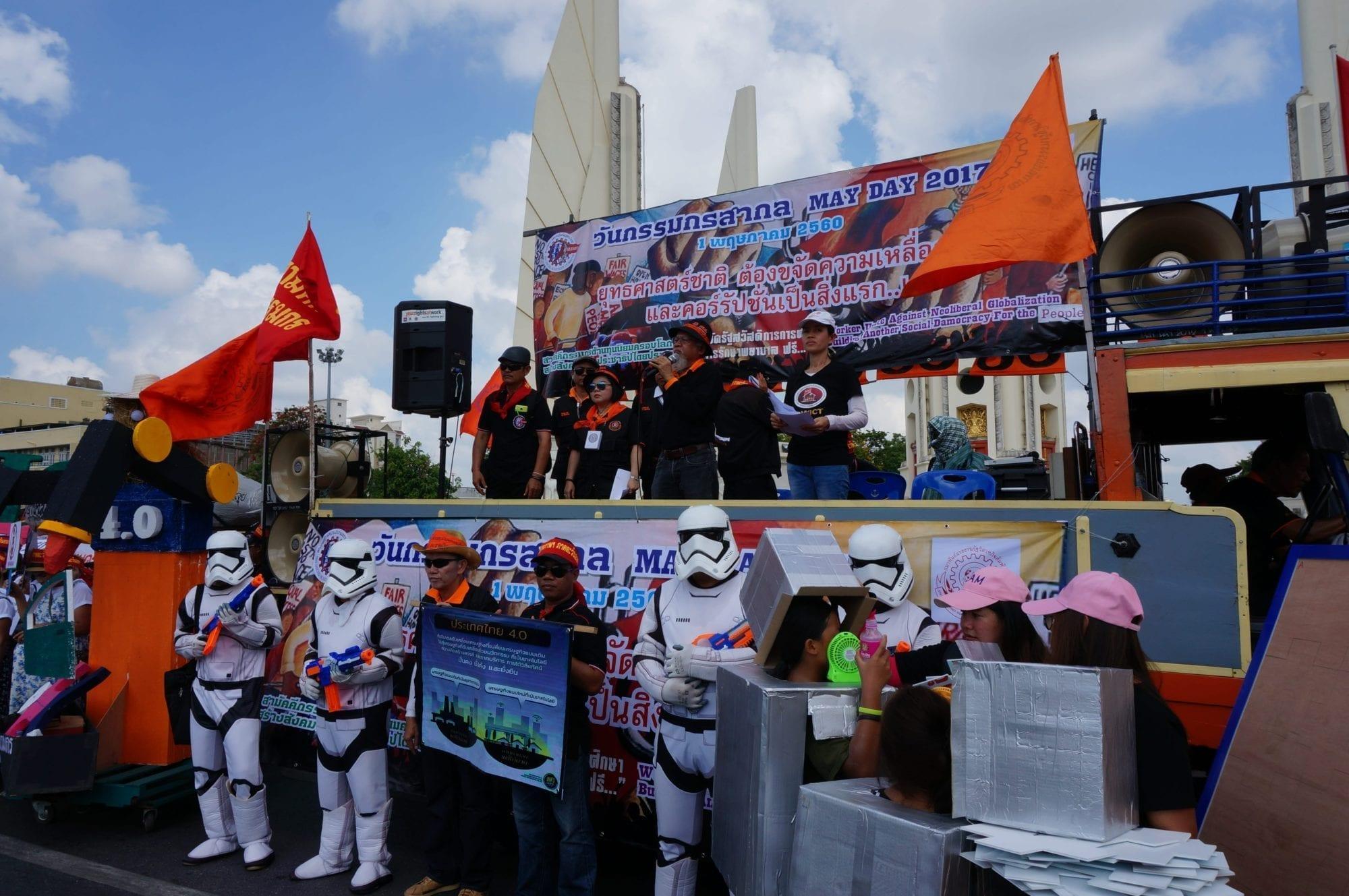 Thailand, May Day, Solidarity Center, human rights