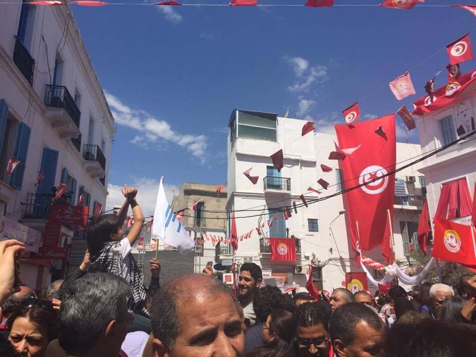 Tunisia, May Day 2017, Solidarity Center