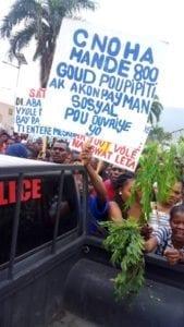 Haiti, garment workers, minimum wage, Solidarity Center