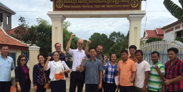 Cambodia, Solidarity Center, unions, rule of law,
