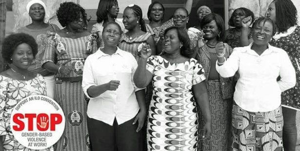 gender-based violence at work, gbv, gender-based violence, Solidarity Center