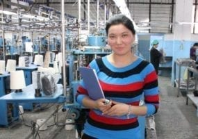 Kyrgyzstan, garment workers, unions, Solidarity Center