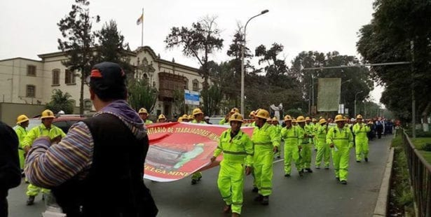 Peru, mine workers, strike, job safety and health, Solidarity Center