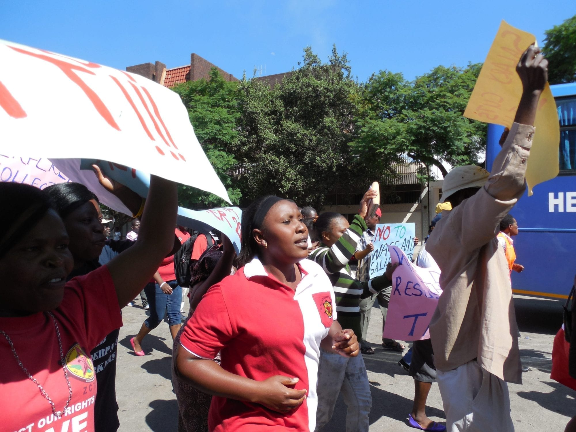 Zimbabwe, young workers, Solidarity Center, unions