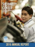 Solidarity Center, worker rights, unions