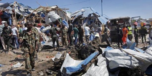 Somalia, bomb blast, Solidarity Center