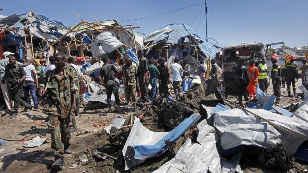 Somalia, bomb blast, Solidarity Center