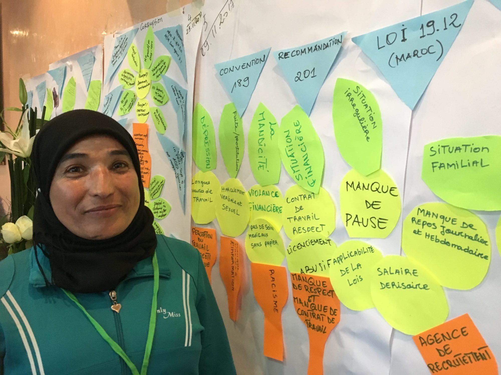 Morocco, farm workers, gender equality, Solidarity Center