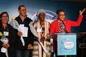 Rep. Karen Bass, Solidarity Center, human rights