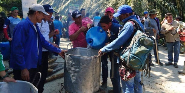 Colombia, human rights, strike, palm oil workers, Solidarity Center