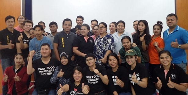 Thailand, KFC, Kentucky Fried Chicken, worker rights, Solidarity Center