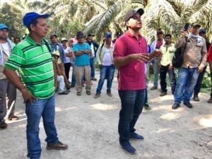 Colombia, palm oil workers, strike, Solidarity Center