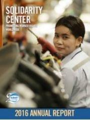 Solidarity Center annual report