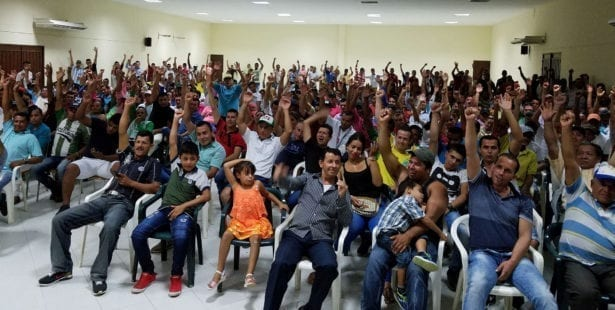 Colombia, palm oil workers, Solidarity Center, human rights